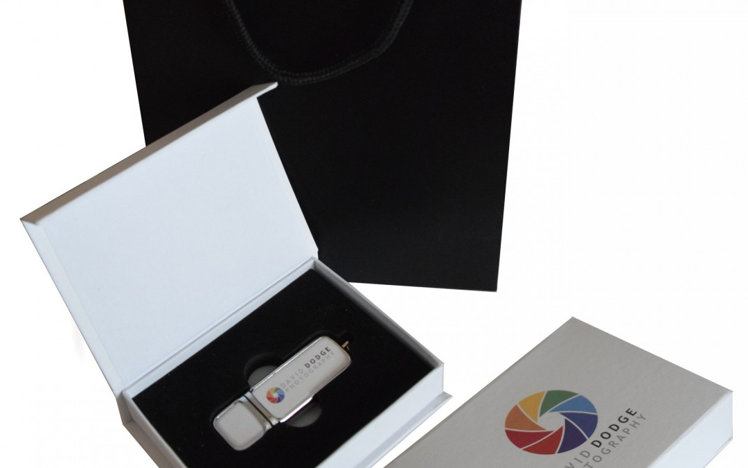One of our new USB presentation boxes